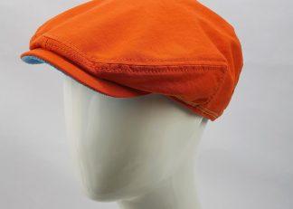 Stetson Kent Flatcap Orange