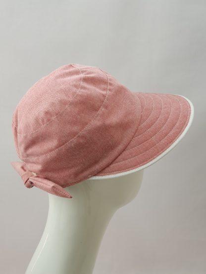 Faustmann Damen UV-Cap Rot UV-Schutz 80