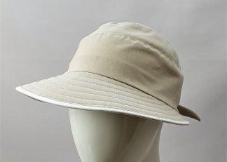 Faustmann UV-Cap Beige Damen UV-Schutz