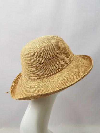 Faustmann Raffia Crochet Hut Damen
